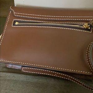 Chocolate Dooney & Bourke crossbody / Shoulder Bag